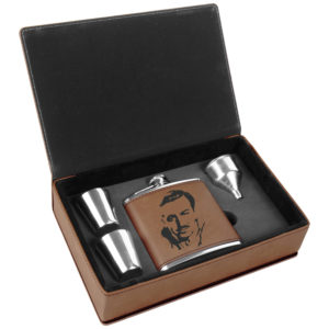 Flask gift set w/ Walt