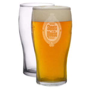 Pint glass w/ Gracey Manor (set of 2)